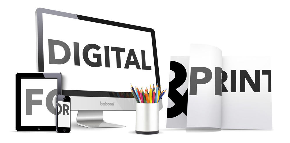 Design Options for Digital & Print