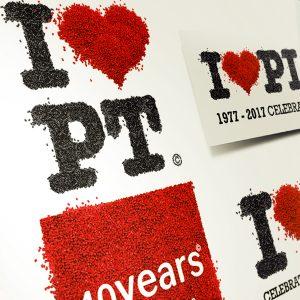 Playtop Licensing Ltd 40th Anniversary Branding