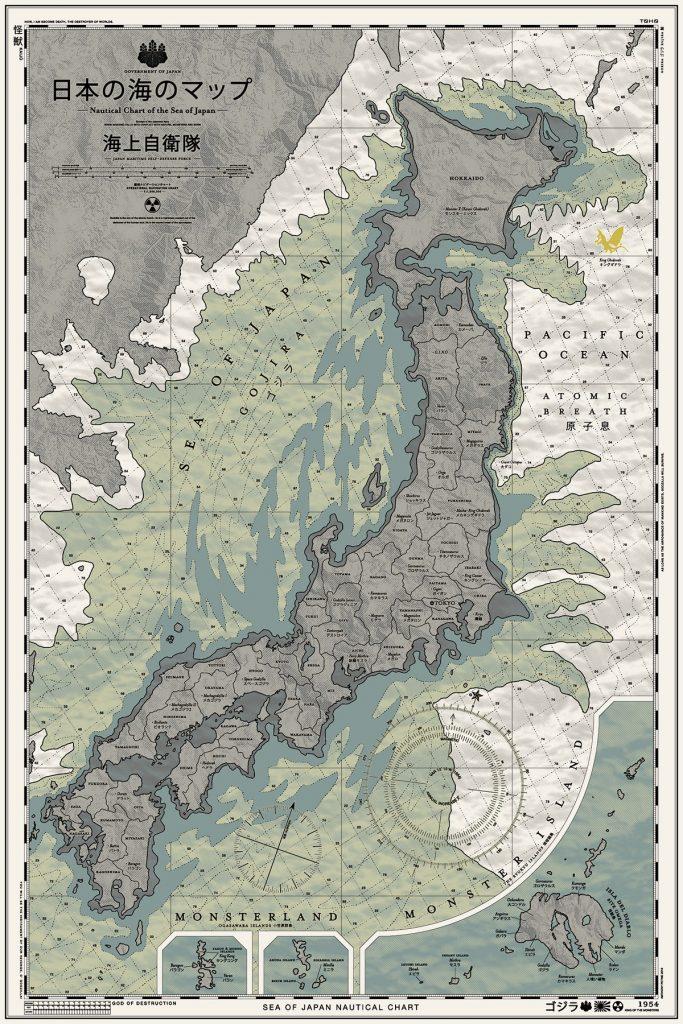 GOJIRA Map