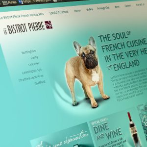 Le Bistrot Pierre Website Design