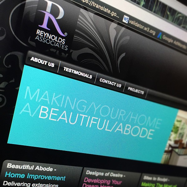 Reynolds Associates Architectural Technologists Website