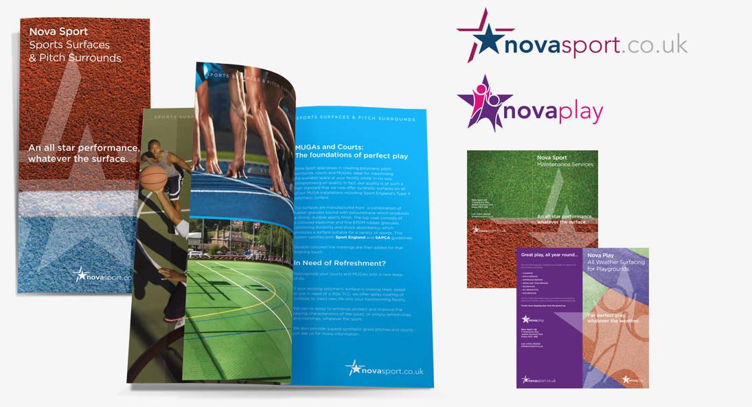 Nova Play Logo & Branding Design