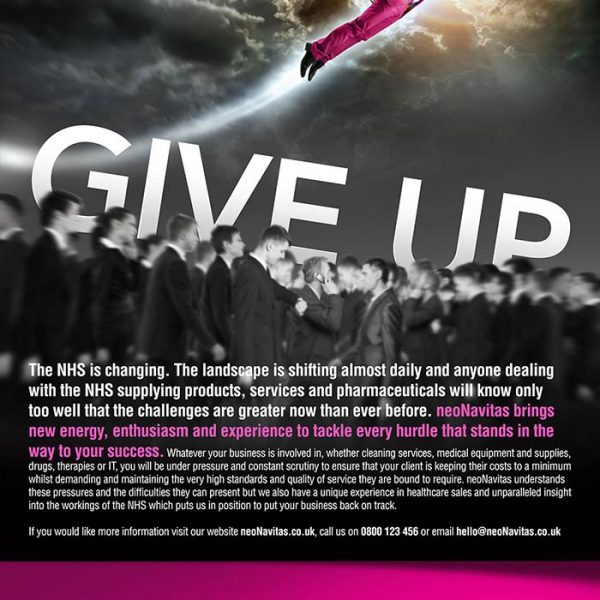 Baboon Creative - Graphic and Web Design Agency Nottingham - neoNavitas Press Advert