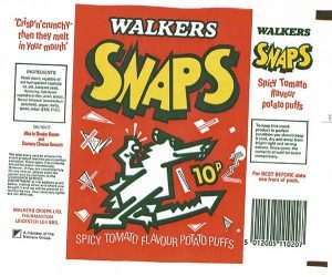 Walkers Snaps 1980's Style